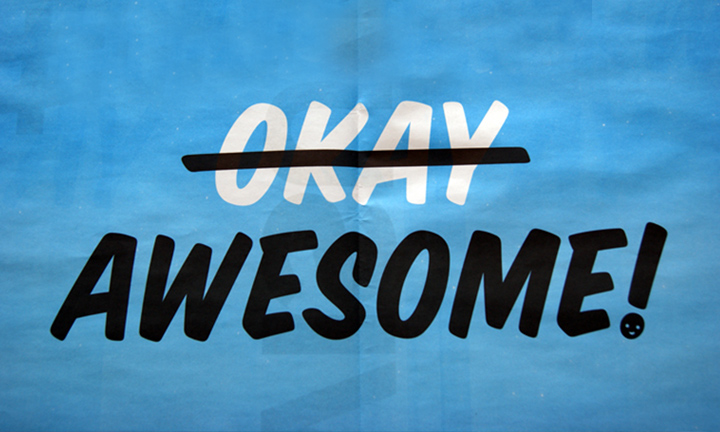 TAKES AWESOME TO RECOGNIZE AWESOME