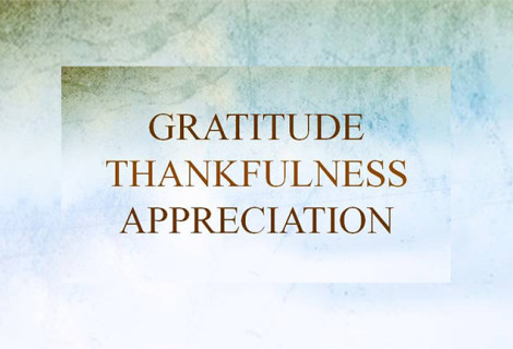 RECOGNIZE THE VALUE OF APPRECIATION