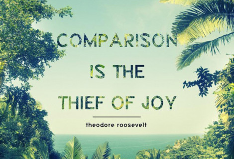 TO COMPARE IS TO DESPAIR