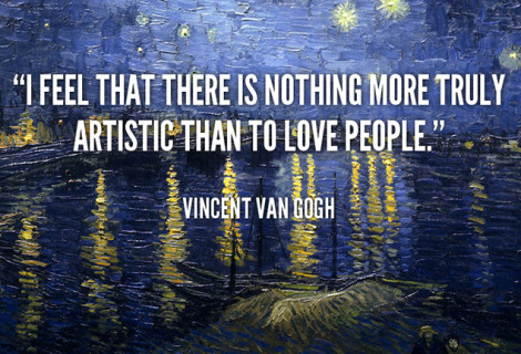 VAN GOGH – LOVING PEOPLE