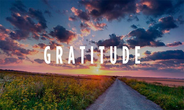 FIVE DAILY GRATITUDES