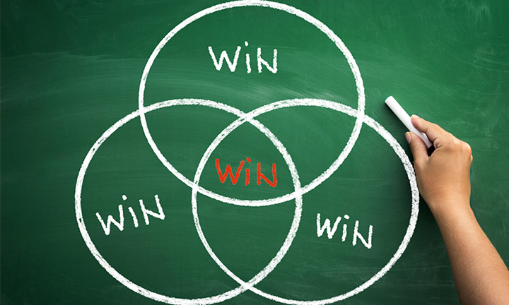 WIN IS A CHOICE