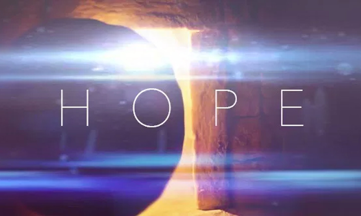 FILLED WITH HOPE