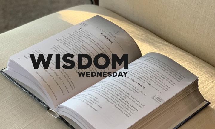 WISDOM WEDNESDAY – THE PRINCIPLE OF LIFE