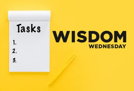 WISDOM WEDNESDAY -WISDOM CHECKLIST