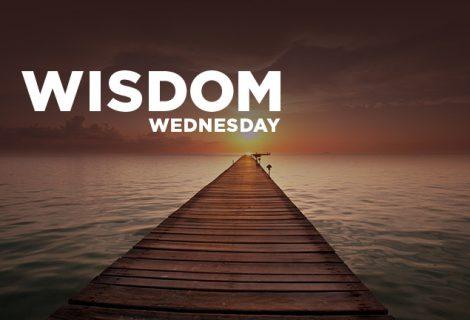 WISDOM WEDNESDAY: COMFORT IN SILENCE