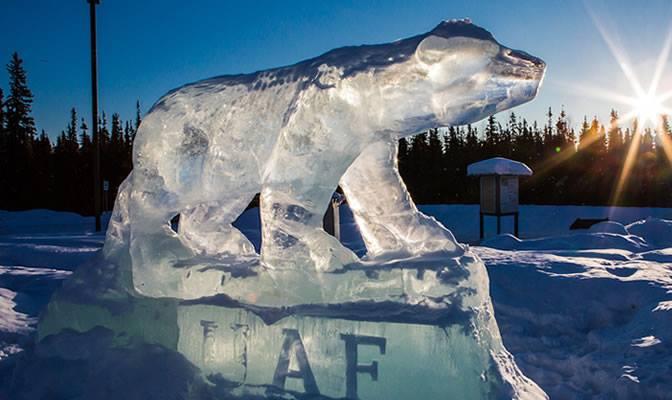 A date with Fairbanks, Alaska