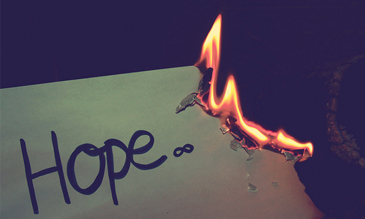 WHAT DO YOU SAY WHEN THERE IS NO HOPE?
