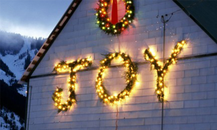 JOY IS A PRECIOUS CHRISTMAS GIFT