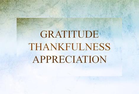 RECOGNIZE THE VALUE OF APPRECIATION