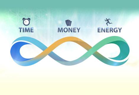TIME, MONEY, ENERGY