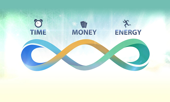 TIME, MONEY, ENERGY