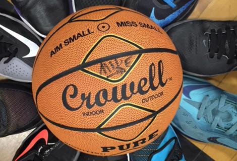 THE CROWELL BASKETBALL – LIFEBALL