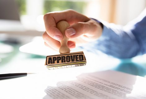 SFA – STAMP FOR APPROVAL