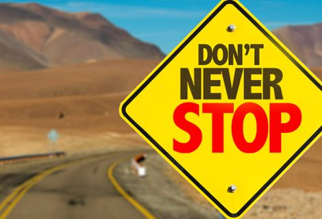 DON'T NEVER STOP – Positive Force Statement
